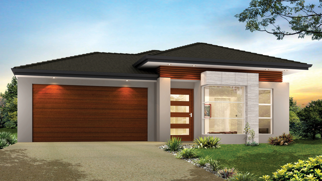 Single storey home designs chelbrooke homes for Single story modern home design