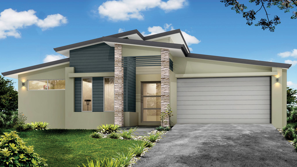 One of our most popular designs  A five bedroom home with media room