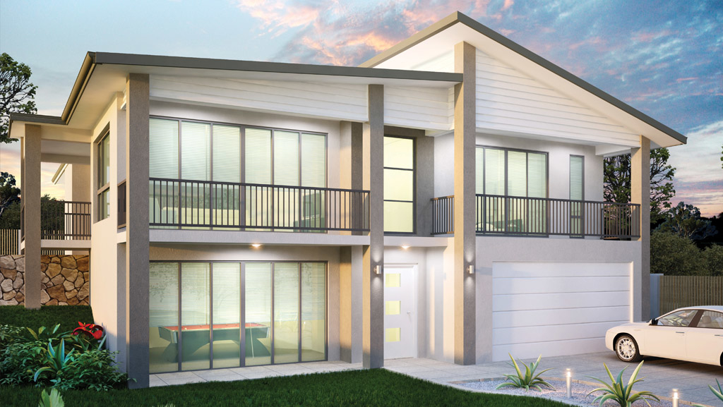 Sloping Block Home Designs Chelbrooke Homes